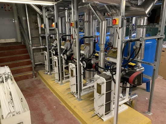 Econoplate plate heat exchangers for hotel upgrade
