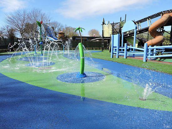 Drusillas Park Wet Pour Surfacing