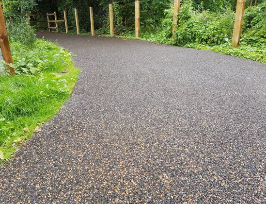 Enviro-Pave water-permeable pathway