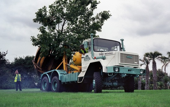 Stocker 8, 2.16m Tree Spade, the largest in the UK
