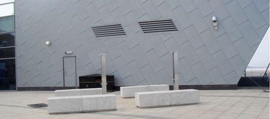 Concrete Bench Seating Ruthin Precast Concrete Esi