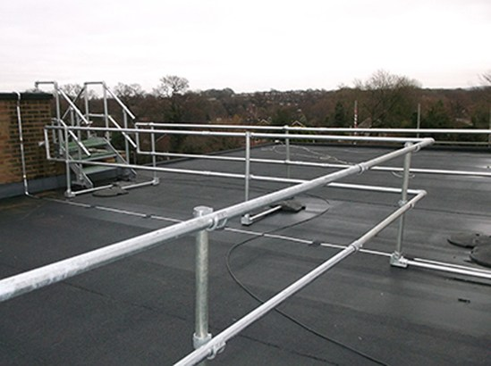 Keeguard 174 Free Standing Roof Edge Guardrail System