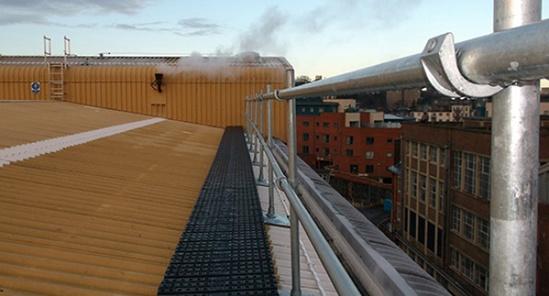 Kee Walk® rooftop walkway