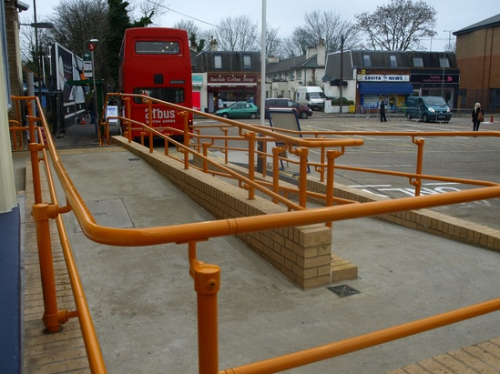 Handrail meets Equality Act requirements
