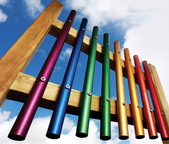 Coloured Chimes exclusive to Schoolscapes