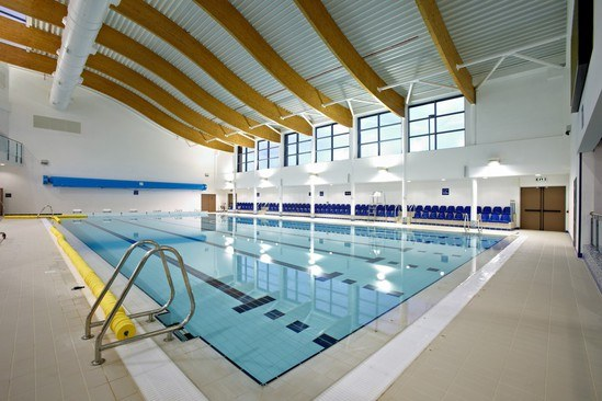 Wall And Ceiling Coatings For Spiceball Leisure Centre Sika Esi Building Design