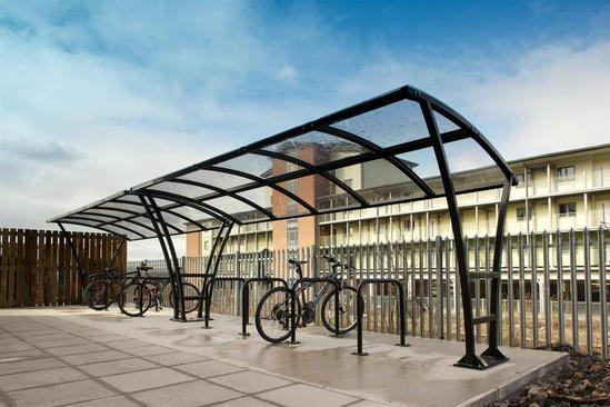 Pluto Cycle Shelter at Network Rail HQ