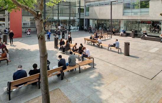 Bespoke Public Seating To Encourage Social Interaction