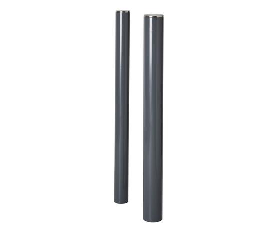Essentials steel powder coated coat bollards