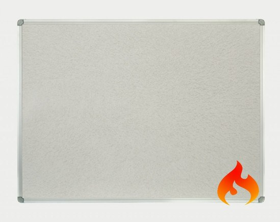 Class B FRB Notice Board with Aluminium Frame