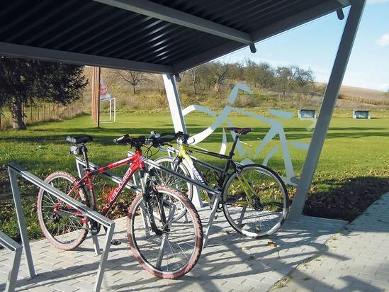 Full Bike Shelters : Edge cycle shelter environmental street furniture esi
