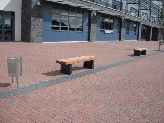 Street Furniture For New State Of The Art School Environmental Street Furniture Esi External