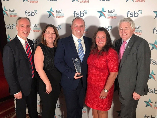ESF at the FSB National Awards in London