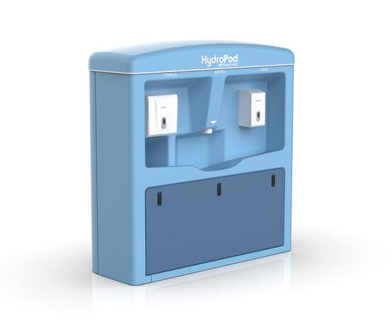 HydroPod hand washing station