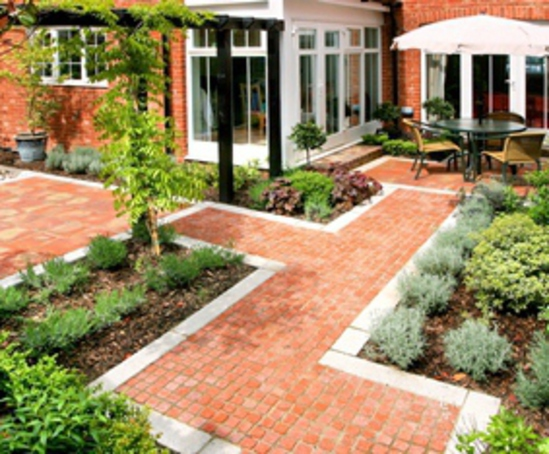 Landscape contractors land design partnership esi for Gardening contractors