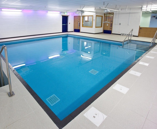 Hydrotherapy pool for special needs school london for Pool design london
