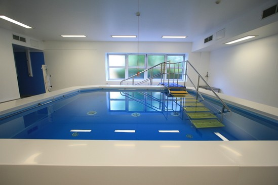 Chelsea Westminster Hospital Hydrotherapy Pool London Swimming Pool Company Esi Interior