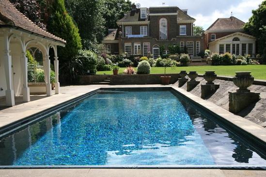 Domestic outdoor pool refurbishment london swimming pool for Domestic swimming pool design