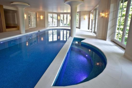 Semi circular 5 person spa london swimming pool company for Product design companies london