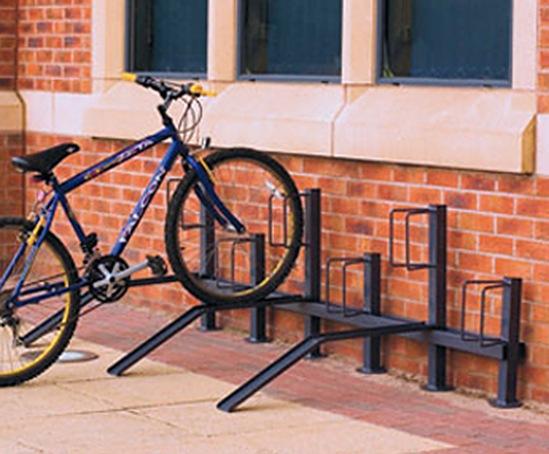 Pillar bike racks
