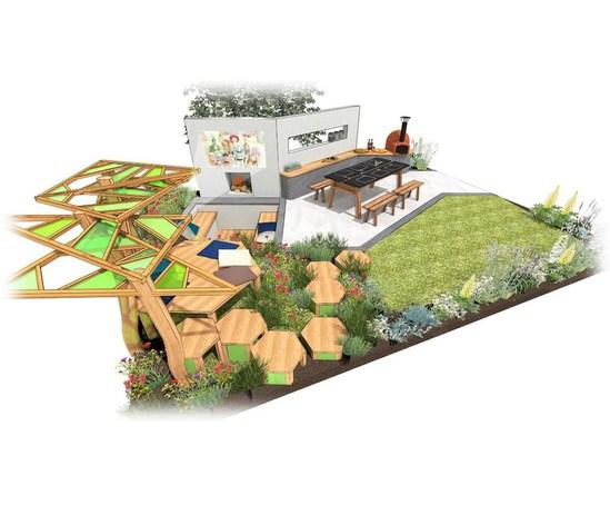 Multi-functional family garden