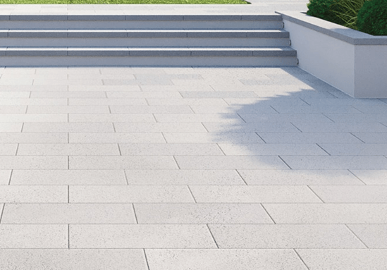 Mayfair paving with Easy Clean