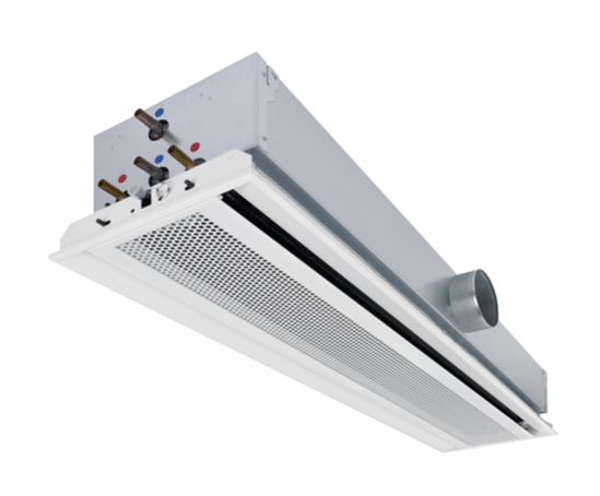 Active Chilled Beams For Heating And Cooling Trox Uk