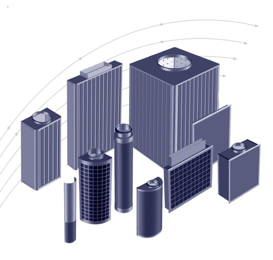 Displacement flow diffusers from TROX