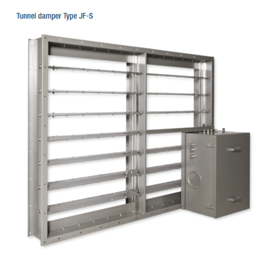 Type JF - tunnel damper