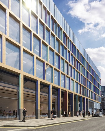 Kaleidoscope development, Farringdon East Crossrail