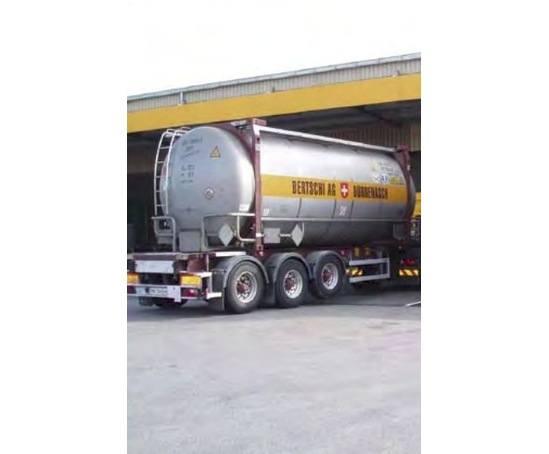 Bertschi AG tanker wash, Switzerland