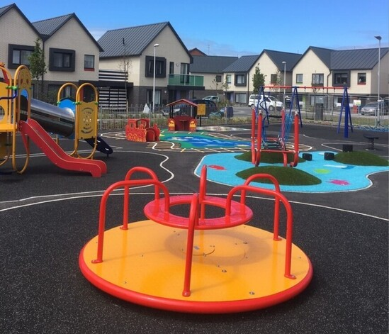 New Queens Park Play Area, Blackpool