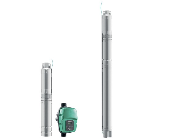 Wilo submersible pumps for raw water intake