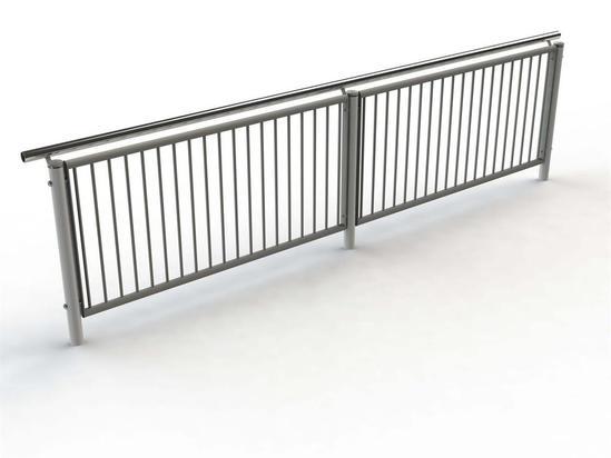 Geo Handrail Balustrade Marshalls Street Furniture
