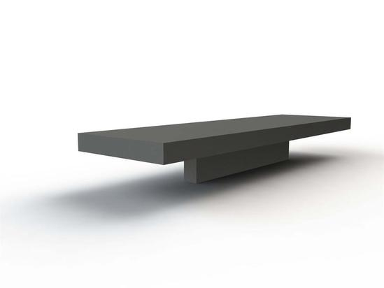 Canet cast stone bench