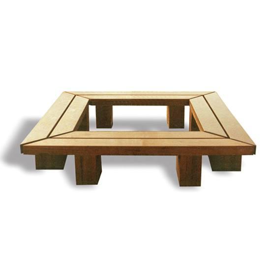 Woodscape Hardwood Seating