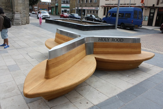 Bespoke external seating in Southampton