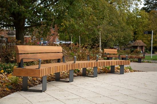 Clifton seating for Peace Garden