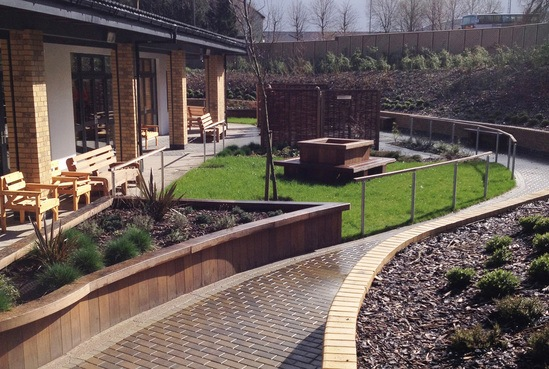 Bespoke outdoor furniture for day care centre