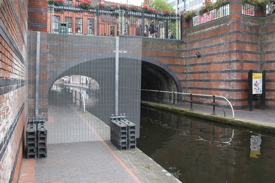 RDS light security fencing to be trialled on canals