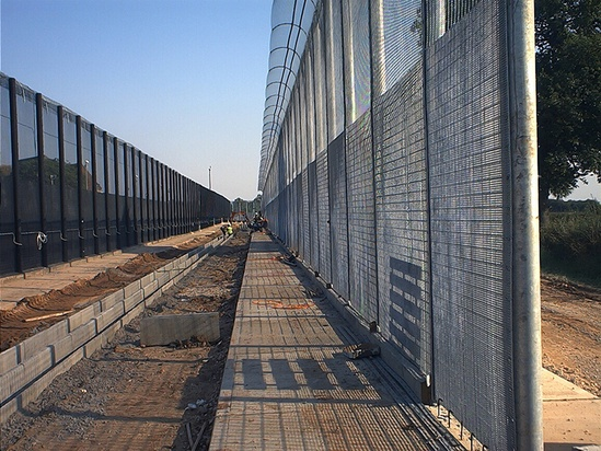 HiSec DualSkin steel mesh fencing and security toppings