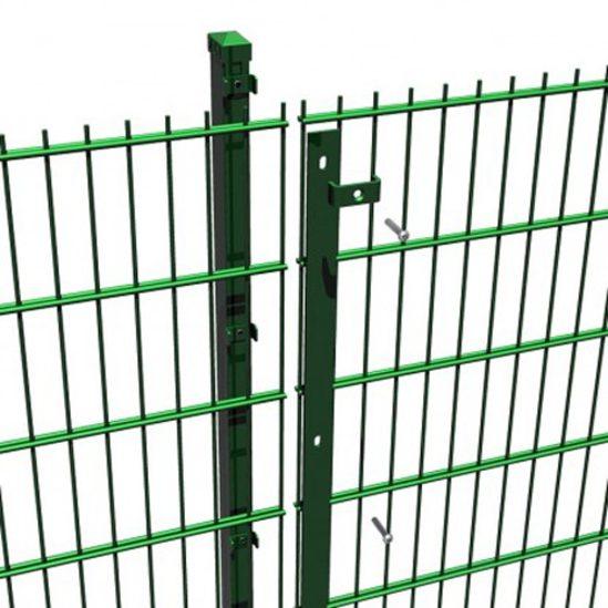 Duo8 Sr1 Rated Double Wire Perimeter Fencing Zaun Esi