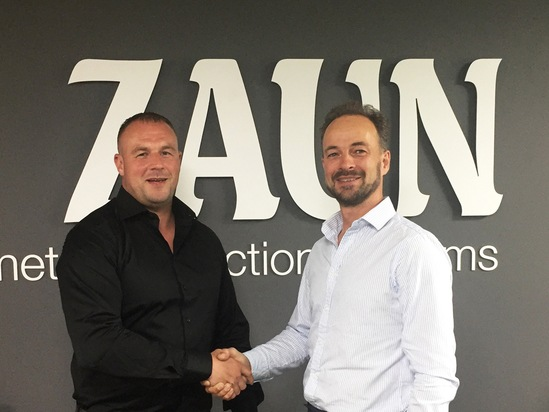 Fastline Zaun collaboration Fellows left and Henman
