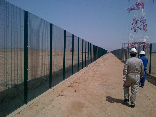 Zaun high security fencing systems