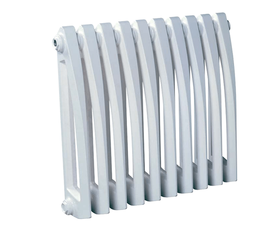 Art Deco cast iron radiator