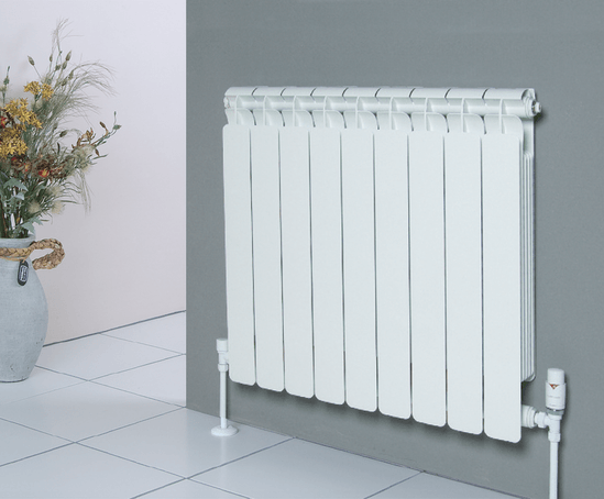 Faral Alba radiator made from die-cast aluminium
