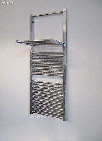 Warmrack Carson chrome heated towel rail