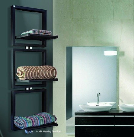 Warmrack Hudson heated towel rail