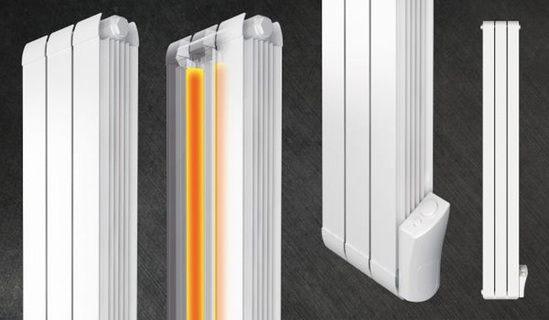 Faral SlimStar aluminium electric radiators