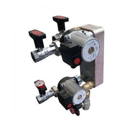 Underfloor heating (UF) plate heat exchangers